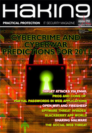 Cybercrime and Cyberwar Predictions for 2011 - Hakin9 01/2011