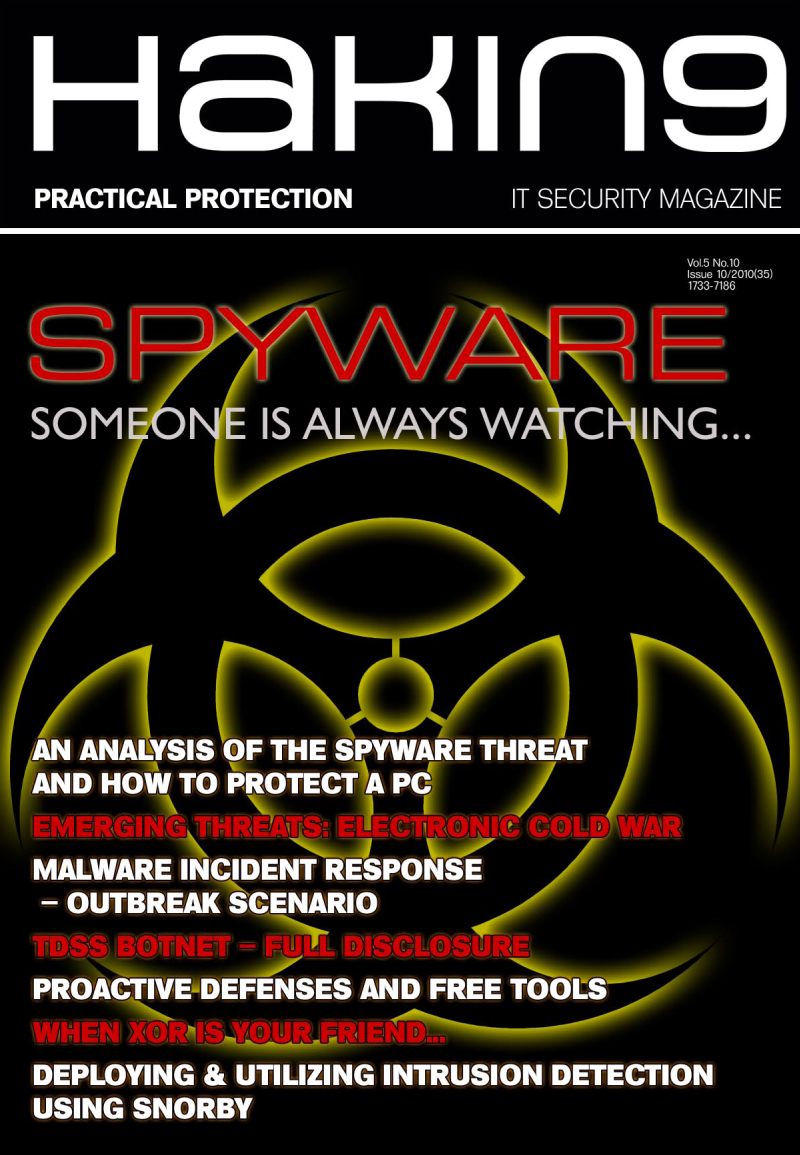 Spyware Someone is always watching...