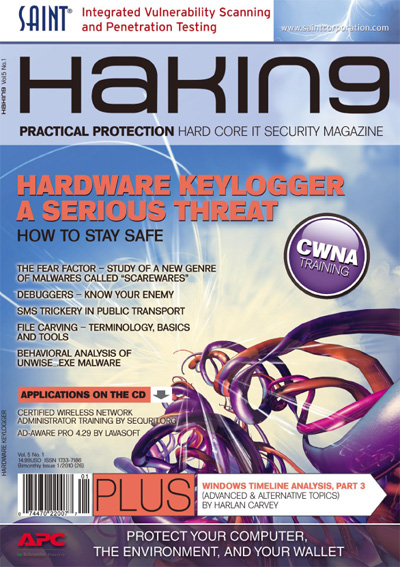 Hardware keylogger a serious threat 01/2010