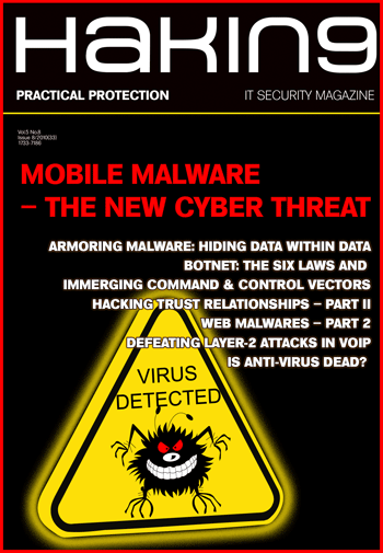 Mobile Malware – the new cyber threat 08/2010