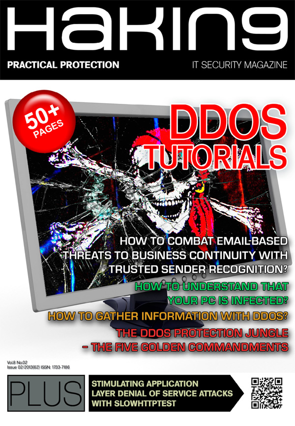 Why DDoS Attacks Are a Threat You Can't Ignore? Hakin9 02/2013