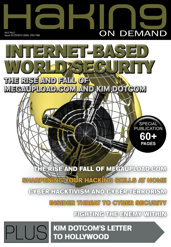 Internet-Based World Security Explored in Hakin9 OnDemand 02/2013