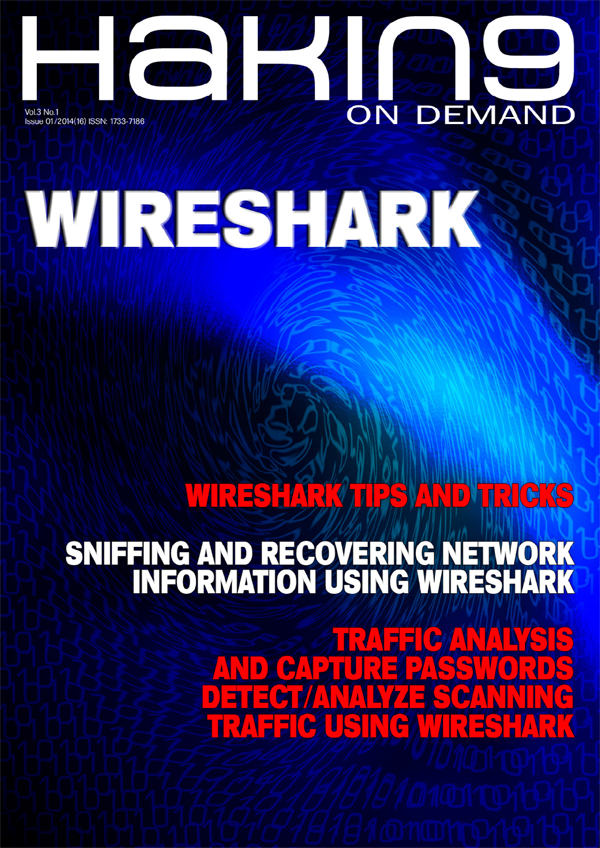 New WIRESHARK is out! Read our new issue and gain professional wireless hacking skills!