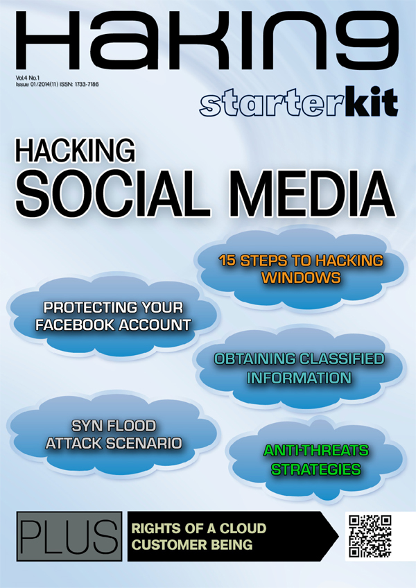 Hakin9 Starter Kit - Hacking Social Media