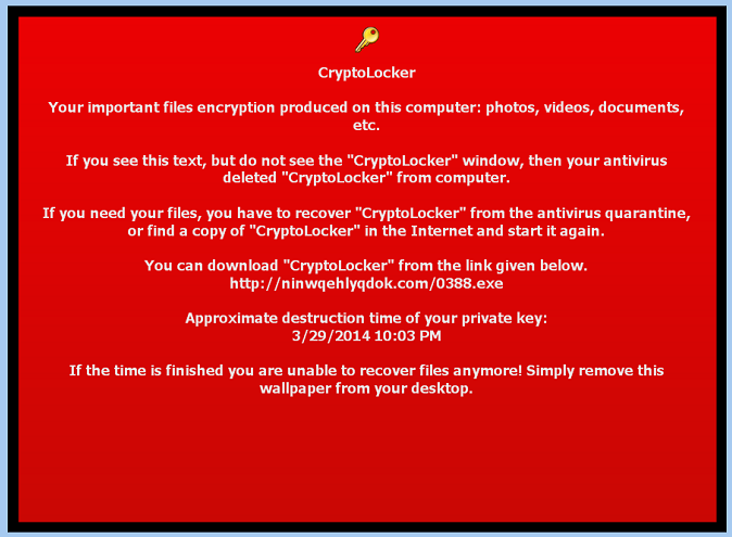 What is CryptoLocker?