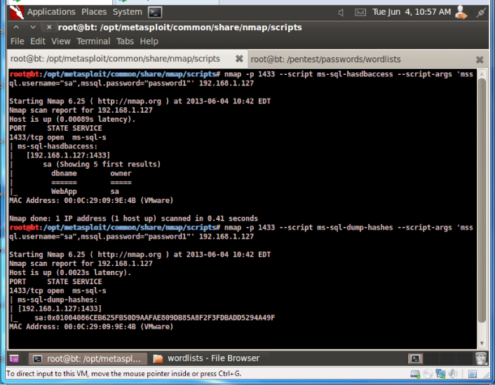 NMAP and Metasploit for MS-SQL Auditing - Hakin9 - IT
