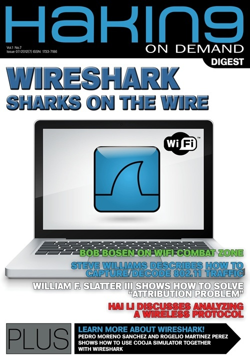 RICH FEATURE SET OF WIRESHARK EXPLORED IN HAKIN9 ONDEMAND 07