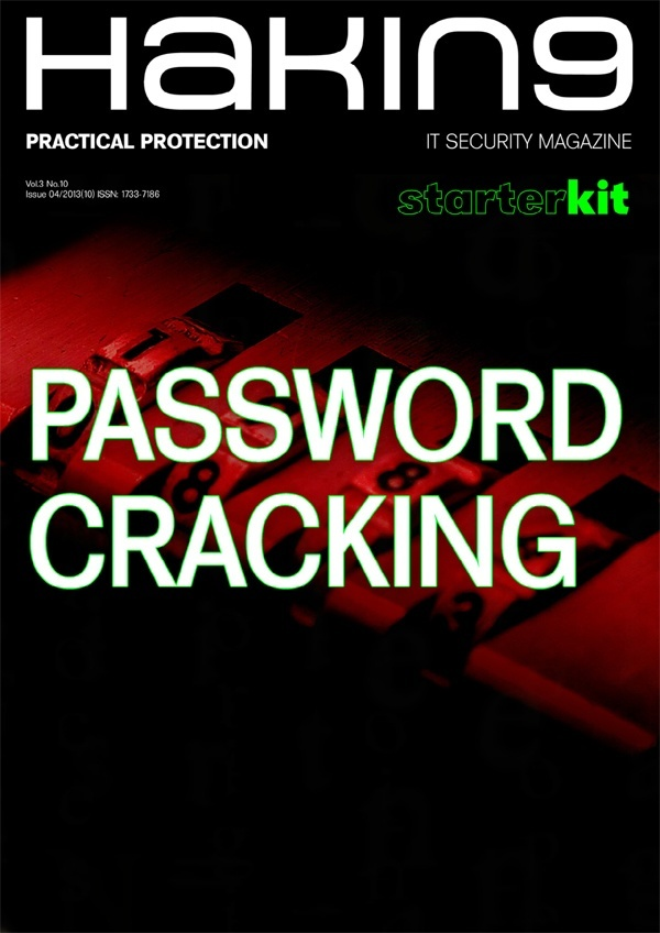 Become A Hacker With Password Cracking Starterkit E Book Hakin9