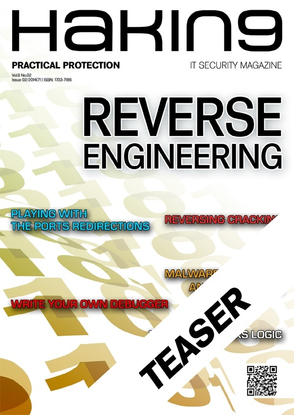 Free articles to read published in hakin9 reverse for Read in reverse