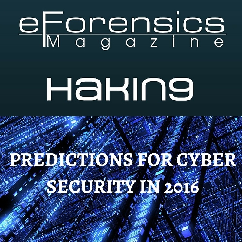 Predictions for cyber security in 2016 (3)