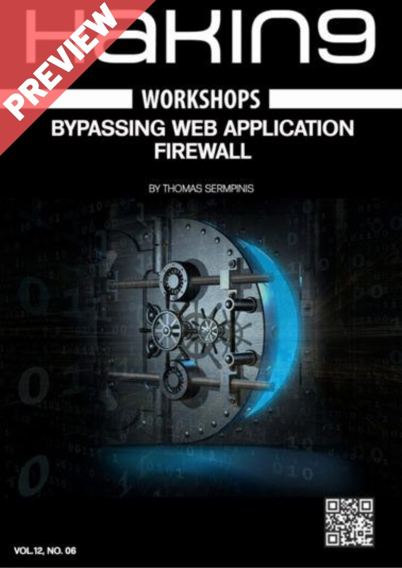 Bypassing Web Application Firewall Workshop eBook - Preview