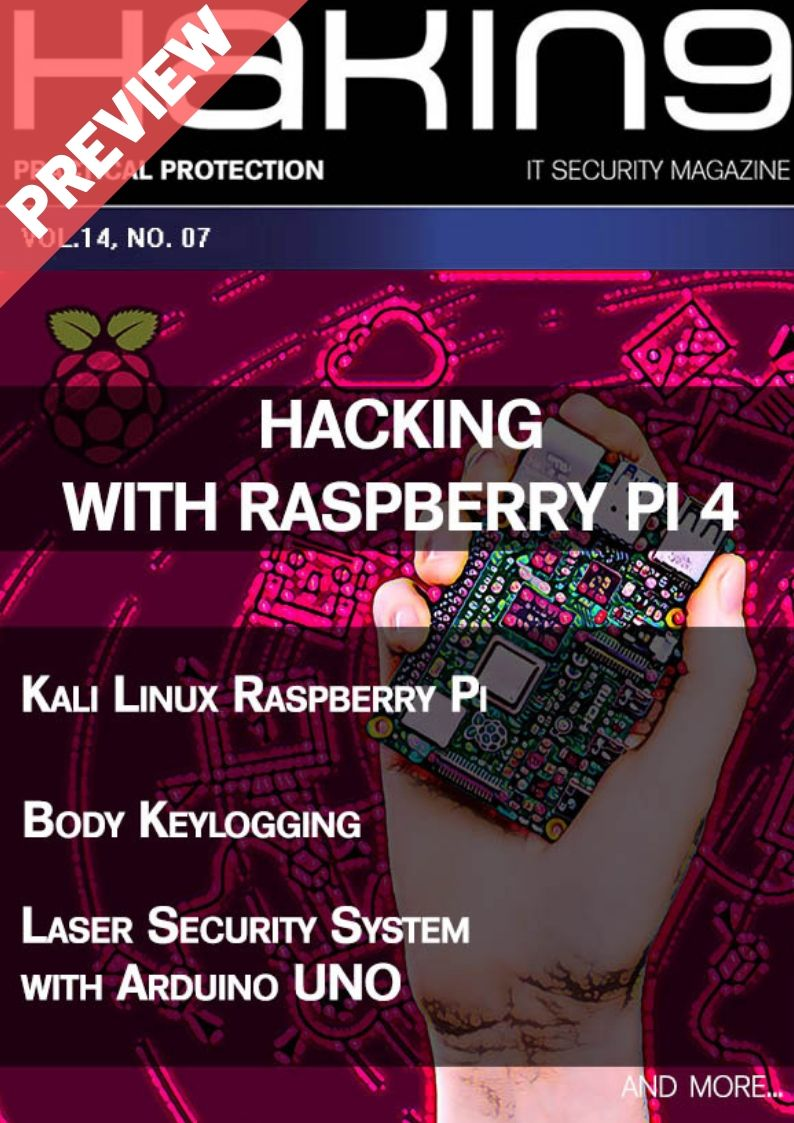 Hacking with Raspberry Pi 4 - Preview
