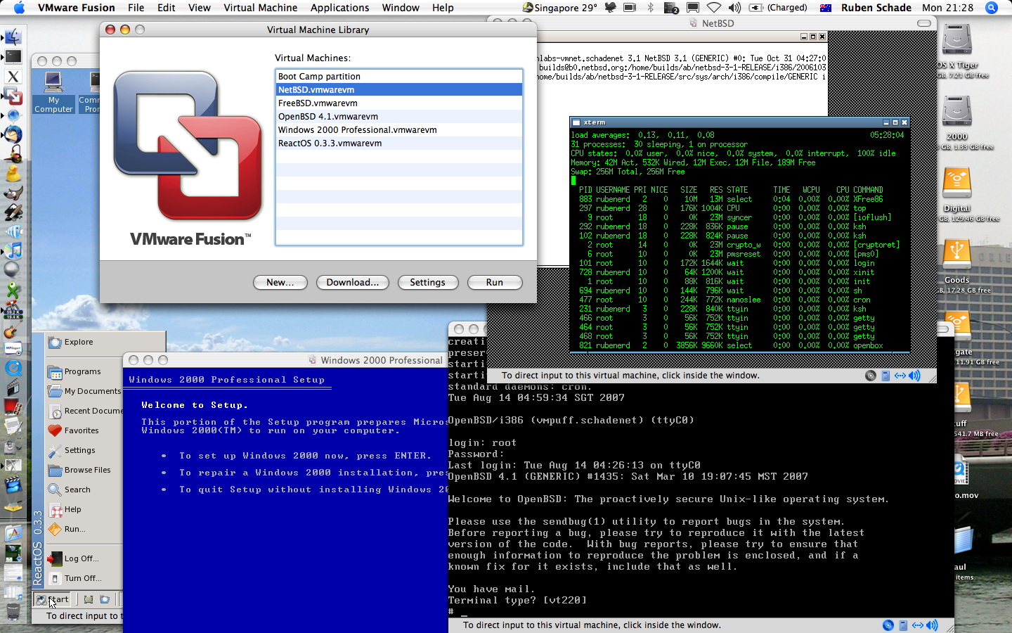 Kali linux for vmware fusion software